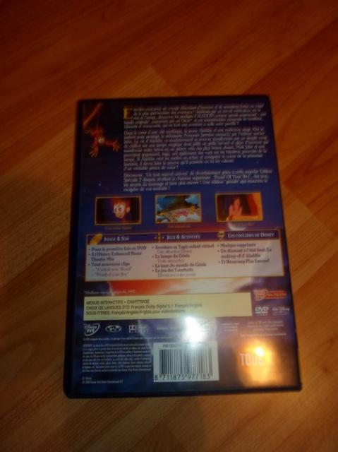 [Recherche - Vente] Le Coin des Blu-ray et DVD Disney !  (TOPIC UNIQUE) 470236SAM0304