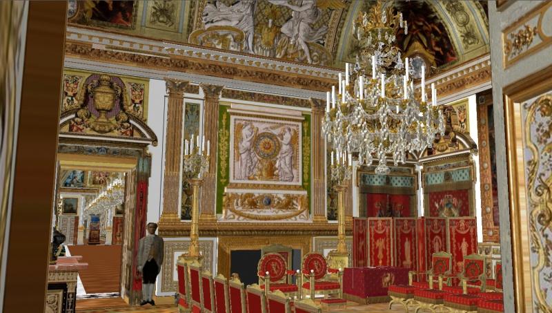 Reconstitution virtuelle du Palais des Tuileries, états Premier Empire et Second Empire 470252grandcabinetplafond