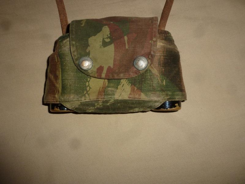 Jumelles et couvre-jumelles camouflage lézard 470516P1070132