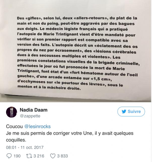 « Les Inrockuptibles » mettent Bertrand Cantat en « une », et un débat que l'on connaît bien ressurgit 473948381