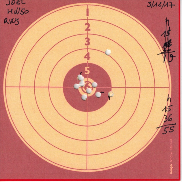 weihrauch - Tests plombs avec carabine Weihrauch HW50S 474736HW50RWSDIABOLOBASIC