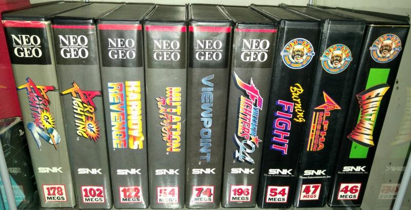 ajout de ma collection Neo Geo AES en vitrine :) 47635920160512153354