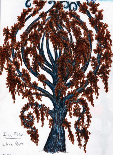 Dragons, chimères et créatures arc-en-ciel - Page 3 477585TourdeVerrearbrelyre