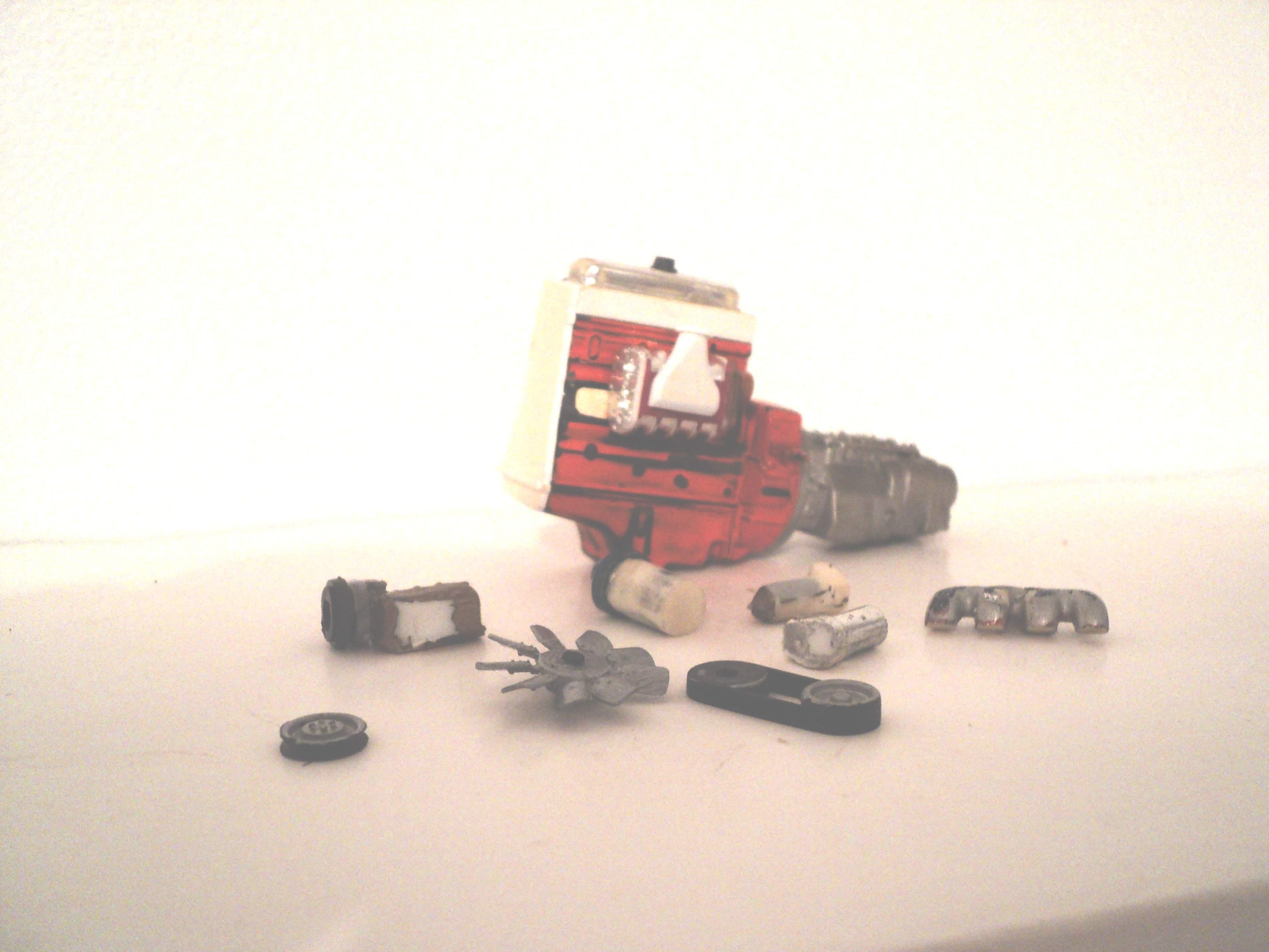 TIMBERJACK 240 (scratchbuilt) 47835803Timberjack240125moteur