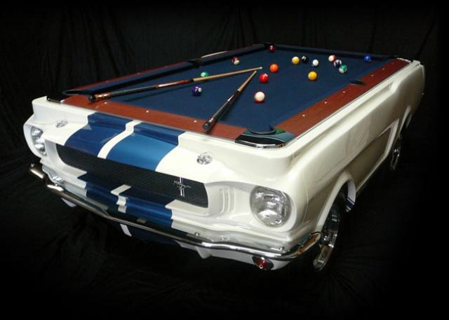 mustang shelby 350 GT 1965  kit monogram 1/24 . 4784101965ShelbyGT350PoolTable1