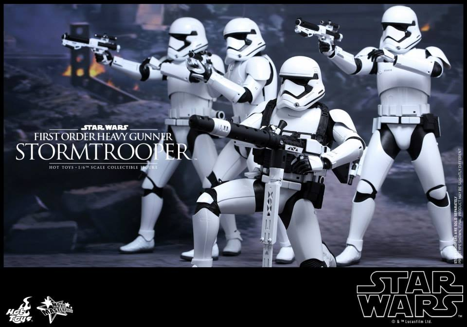 HOT TOYS - SW7: TFA - First Order Heavy Gunner Stormtrooper 479303101
