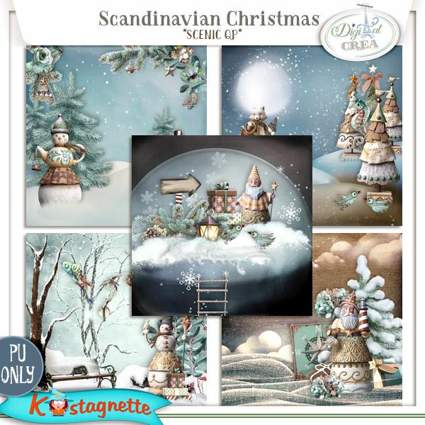 Collection Scandinavian Christmas de Kastagnette + Promo et freebie 479513224