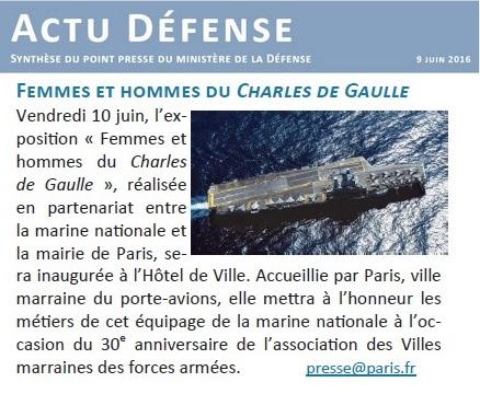 [ Porte-Avions Nucléaire ] Charles De Gaulle Tome 3 - Page 2 479885ActuCopie