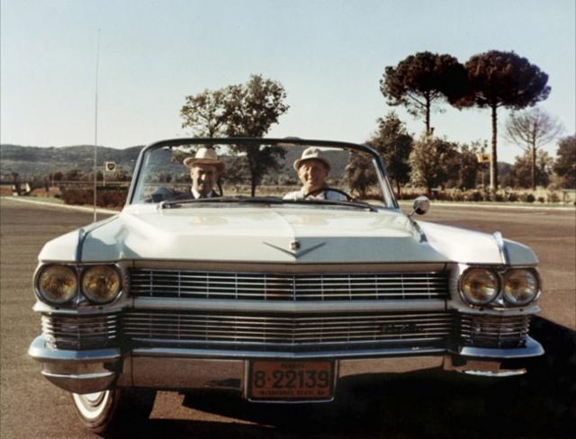 Cadillac '64 convertible d'Antoine Maréchal dans le Corniaud 481951lecorniaud196585431494177433