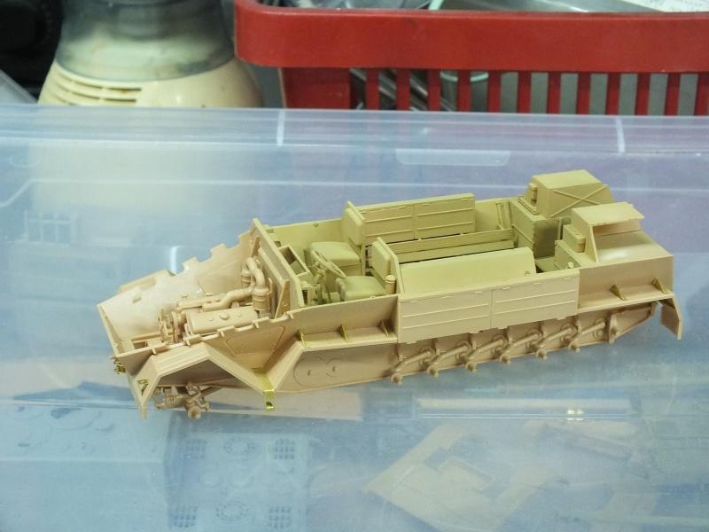 Sdkfz 8 Db 10 Gepanzerte 12 t(trumpeter 01584)  et 88mm Flak37 (Dragon 6287)   482675DSCF6322