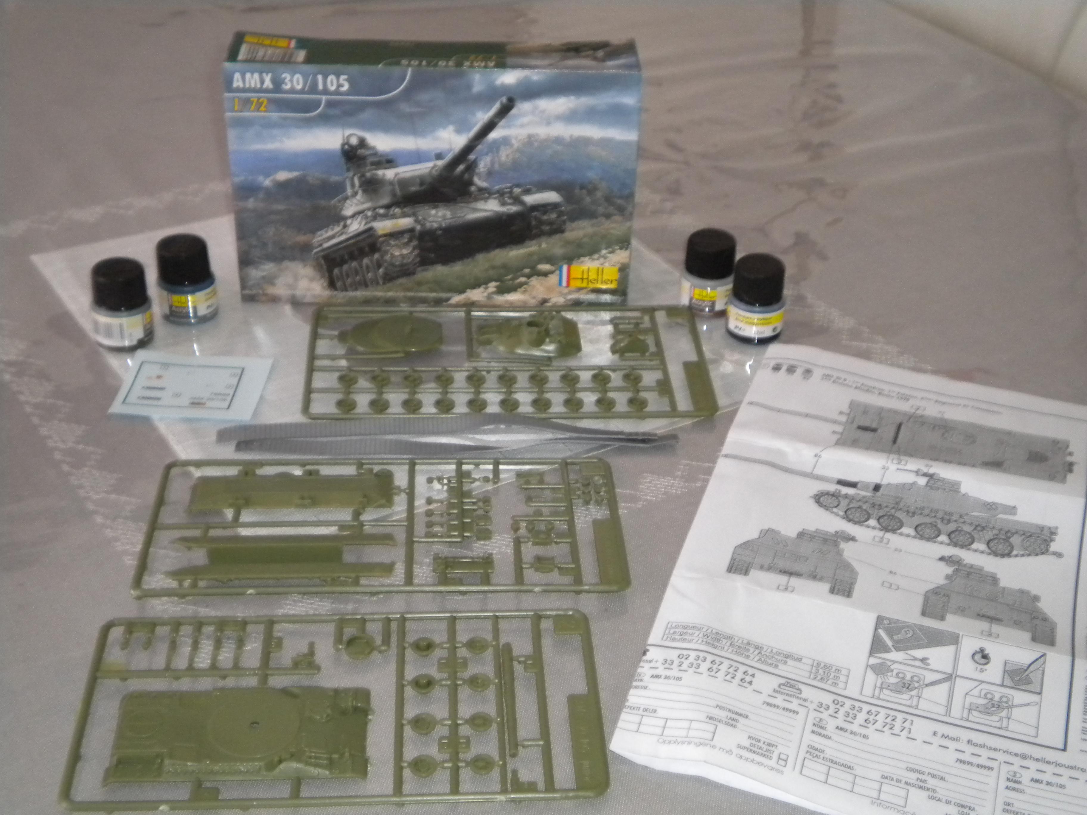 AMX 30/105 HELLER 1/72 482758DSCN7082
