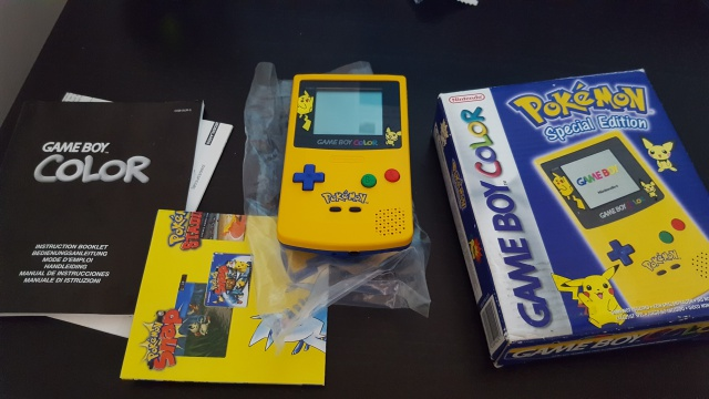 (VDS) gameboy color pokemon en boite 48287220170825151553