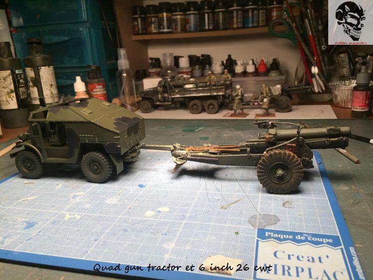 Quad gun tractor et 6 inch 26 CWT en Normandie 1/35 483017IMG4805
