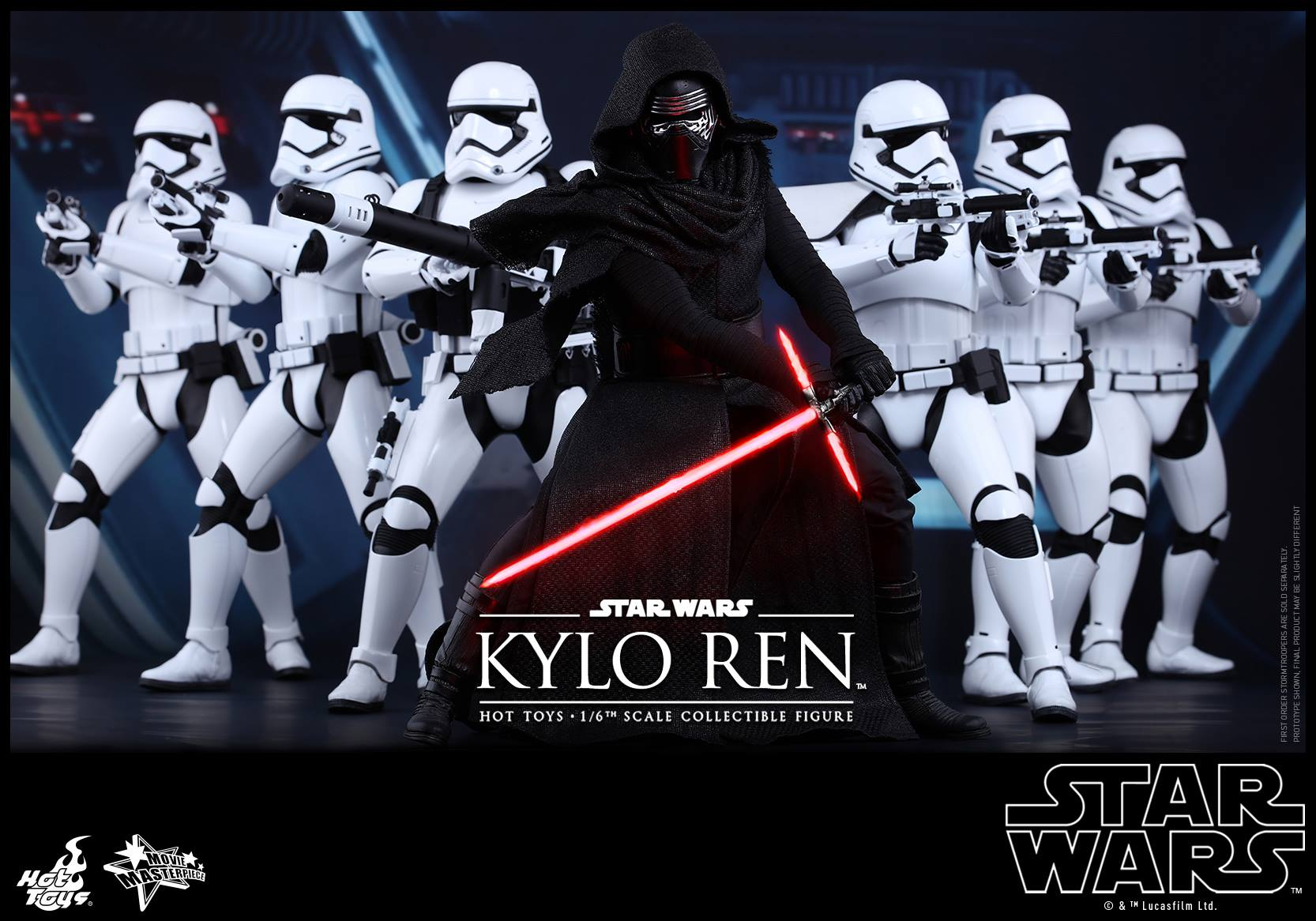 HOT TOYS - Star Wars: TFA - Kylo Ren 483978101