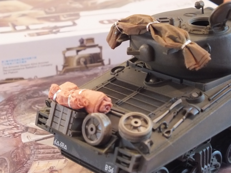 Sherman A3E2  Tamiya 1/35 et canon alu Rb models.  (Patine en cours) - Page 2 483998DSCF7227