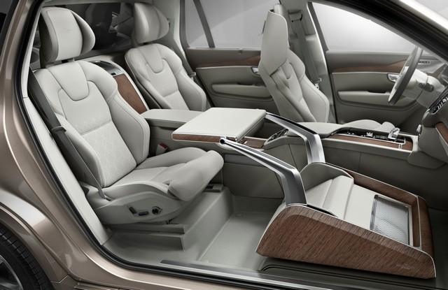 Volvo Cars a dévoilé Sa Nouvelle Lounge Console à Shanghai 484479161565VolvoXC90ExcellenceLoungeConsole