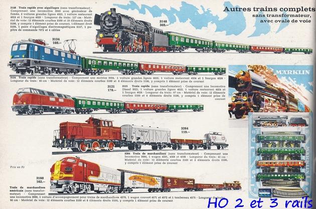 Coffrets Märklin 1936 - 1968 (rouges, noirs, verts ou bleus) 484834Marklincatalogue19672R