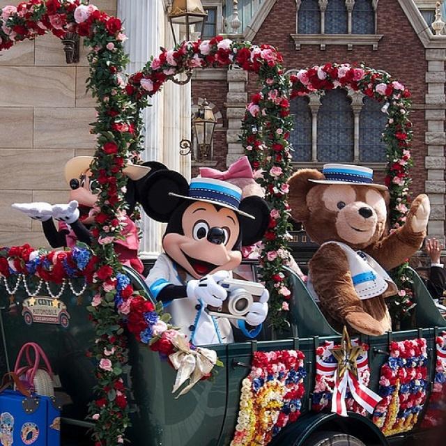 [Tokyo Disneyland] Nouvelle parade : Hippiti-Hoppiti Spring Time (du 2 avril au 23 juin 2014) 484921tds13