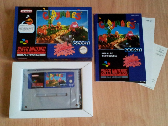 Prupru's Collection ! 100% Super Nintendo et 200% Super Comboy !! - Page 2 485051ClaymatesESP