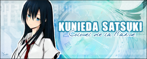 Tatsuki Kunieda, colonel en seconde de Satsuki Kunieda 485074kuniedasigna