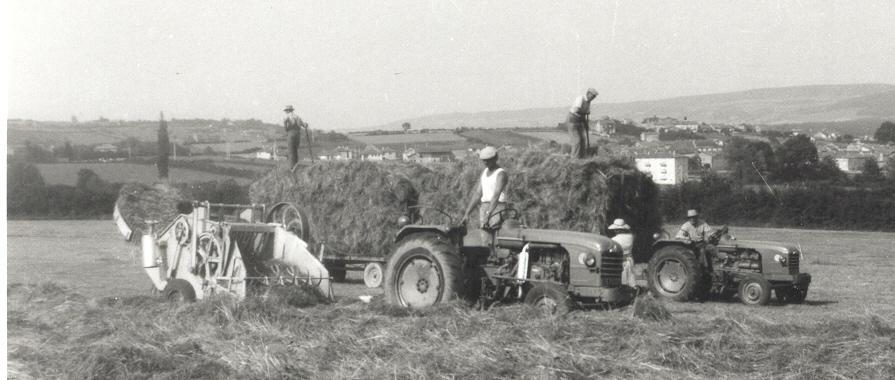 La vie d'autrefois dans les fermes 485311976