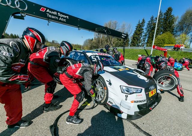 Les équipes Audi Sport sont prêtes pour l'ouverture de la saison de DTM 485611A163165medium