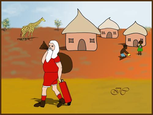 Si j'étais le Père Noël ... Texte illustré. 485820PreNolw