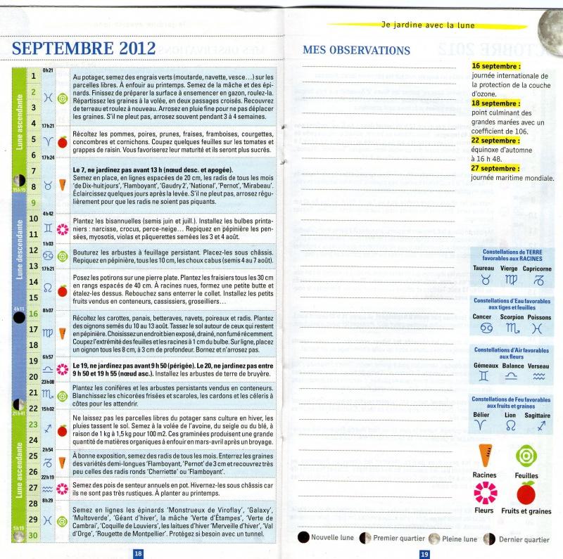 Calendrier Lunaire Septembre 2020 Rustica.Calendrier Lunaire