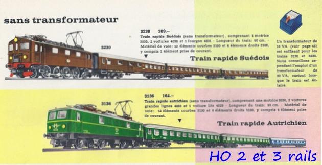 Coffrets Märklin 1936 - 1968 (rouges, noirs, verts ou bleus) 488249Marklincatalogue19626R