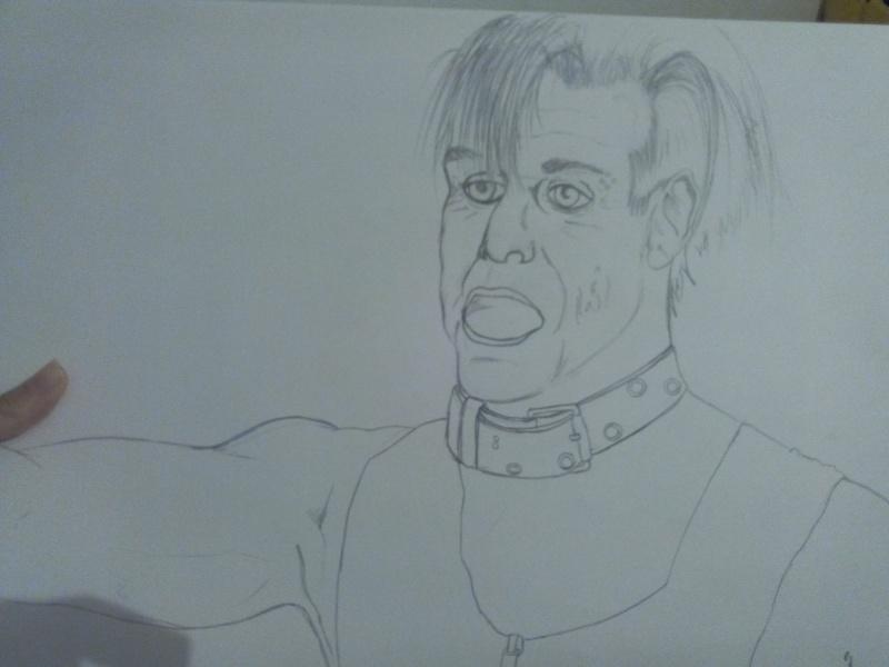 Croquis Till Lindemann