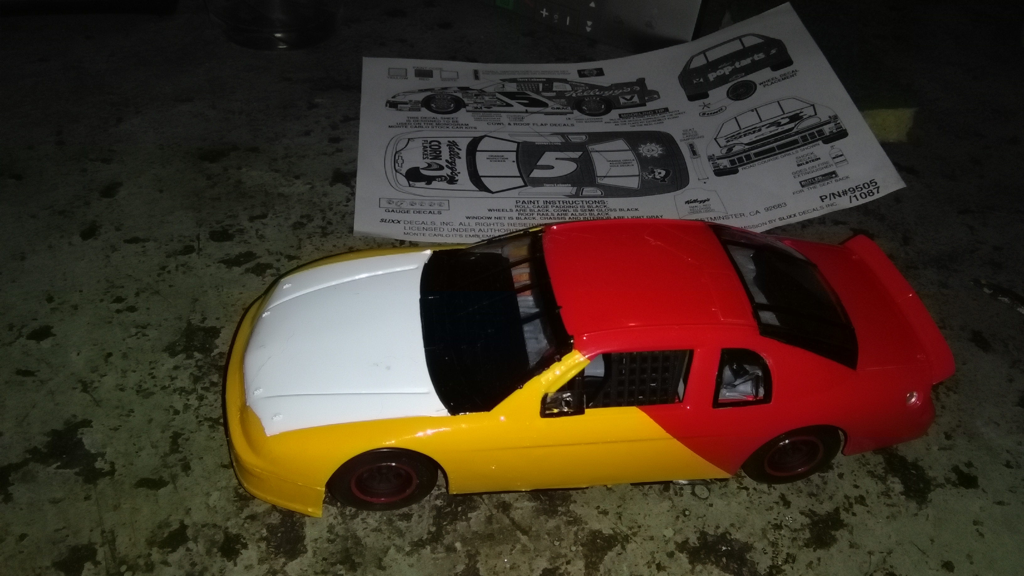 Chevy Monte-Carlo 1998 #32 Jeff Green Kleenex-Cottonelle   490276IMG20160201215110