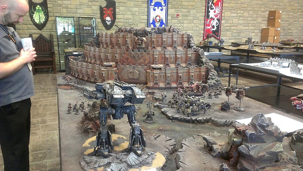 Warhammer 40K (figurines diverses trouvées sur internet! ) - Page 18 491331table