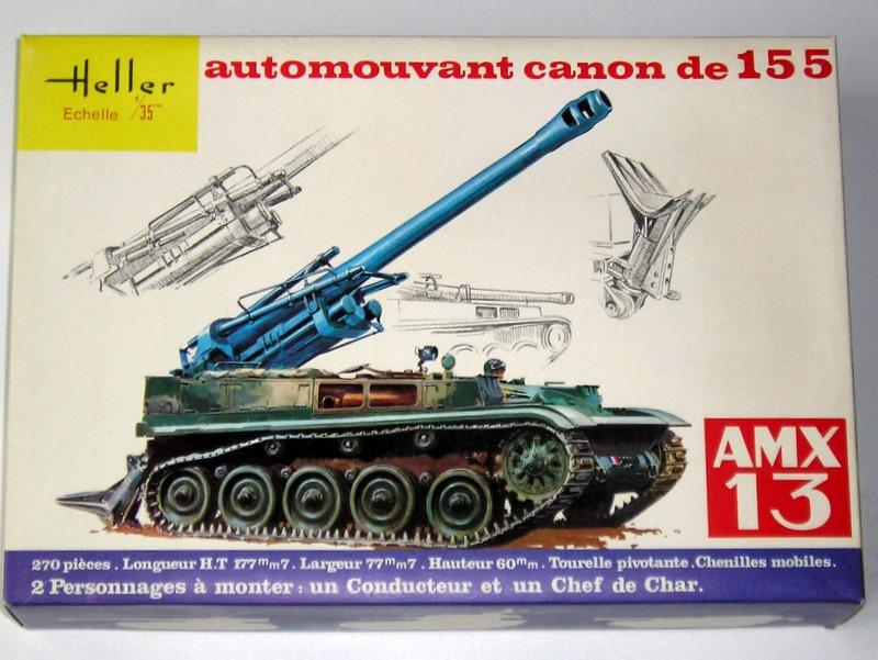 AMX 13 canon de 155 - (Réf. L782) 1/35 492729AMX13155782001Heller135