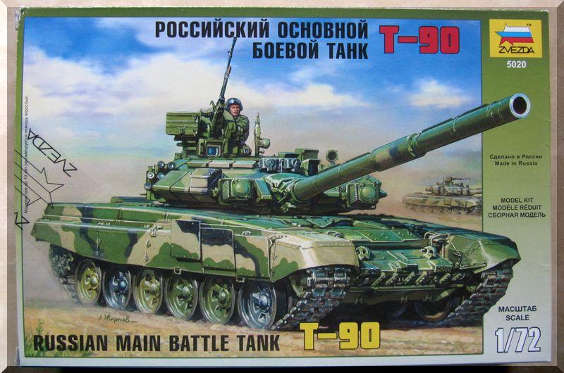T-90 Zvezda 1/72ème 492897Bote