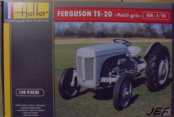 FERGUSON TE20 PETIT GRIS HELLER 1/24 493095FER001