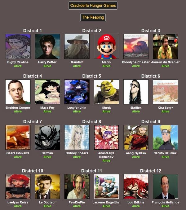[Crackderla N°1] Hunger Games 4937241Reaping