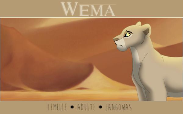 • Wema • Kaya • Tadewi & Lewa: Demande de liens & rps 494666Wemgthy