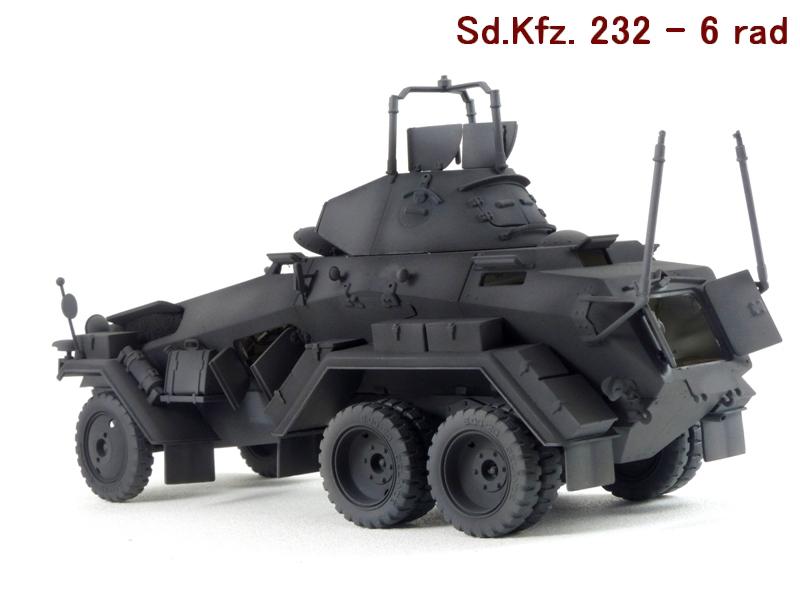 Sd.Kfz. 232 6 Rad - France 1940 - Italeri 1/35 494790P1030988