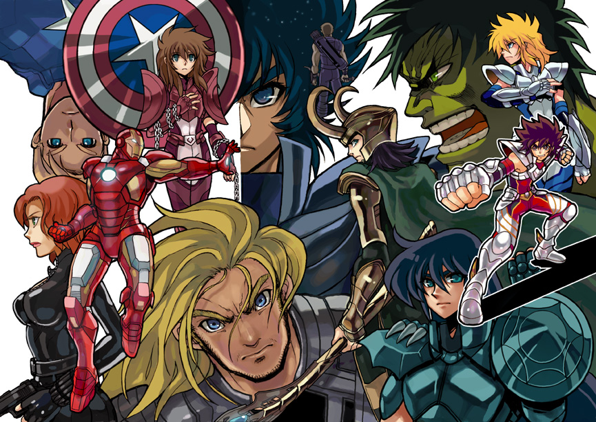 [Sondage] Les cinq bronzes légendaires VS les vengeurs du film Avengers 49527376a1267e299777d01e1b42cb0f40e6b9