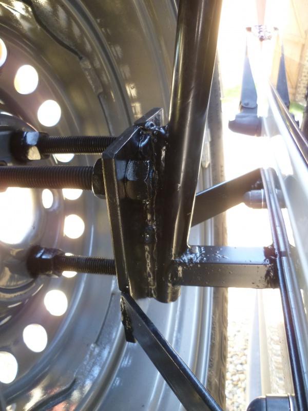 Portes roue de secours, home made  495393P1300433