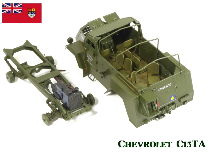 CHEVROLET C15TA - Normandie 44 - IBG 1/35 495565P1040546
