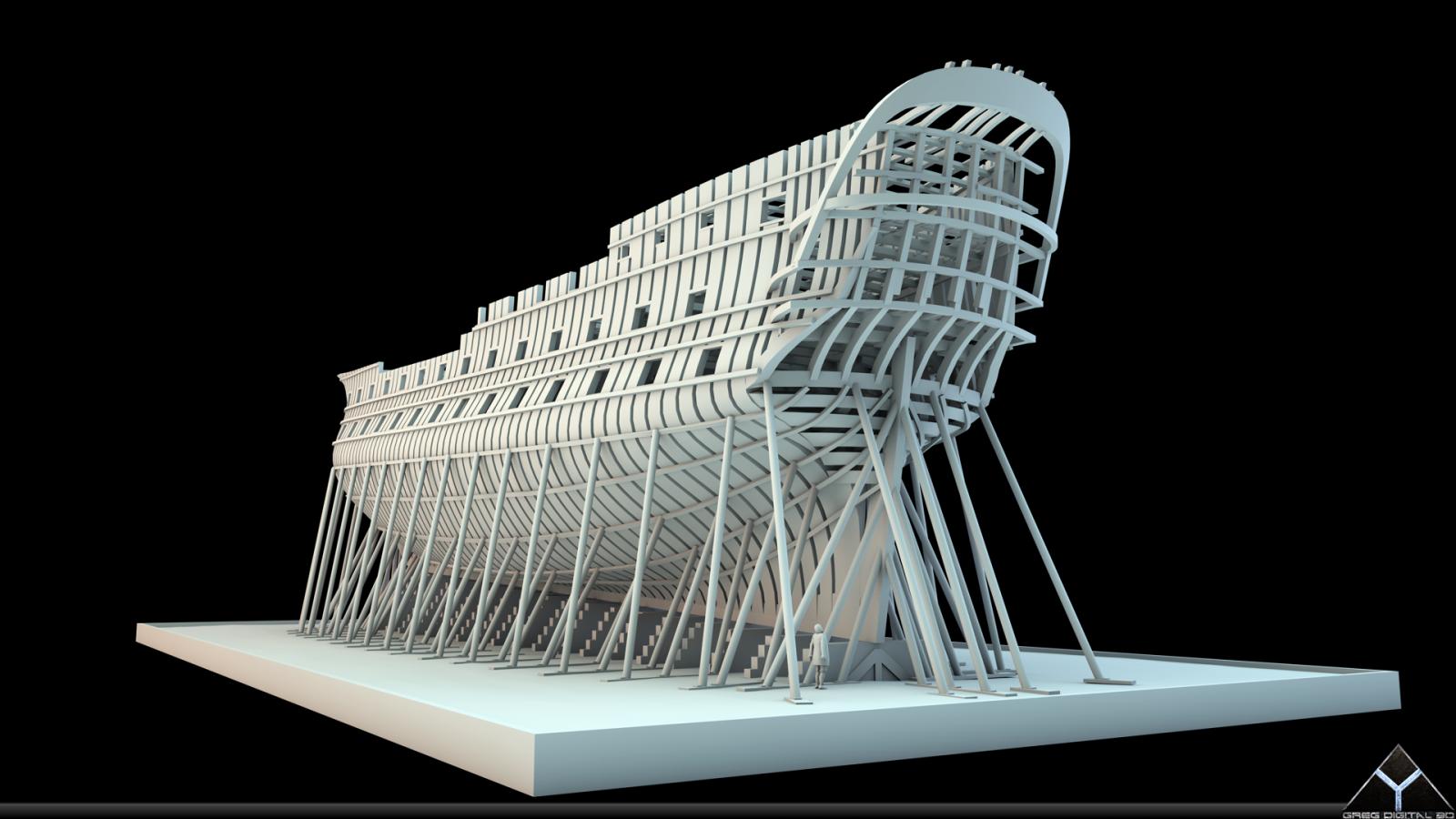 Etapes de construction 3D d'un navire de 74 canons. - Page 8 496322Navire74canonsR16