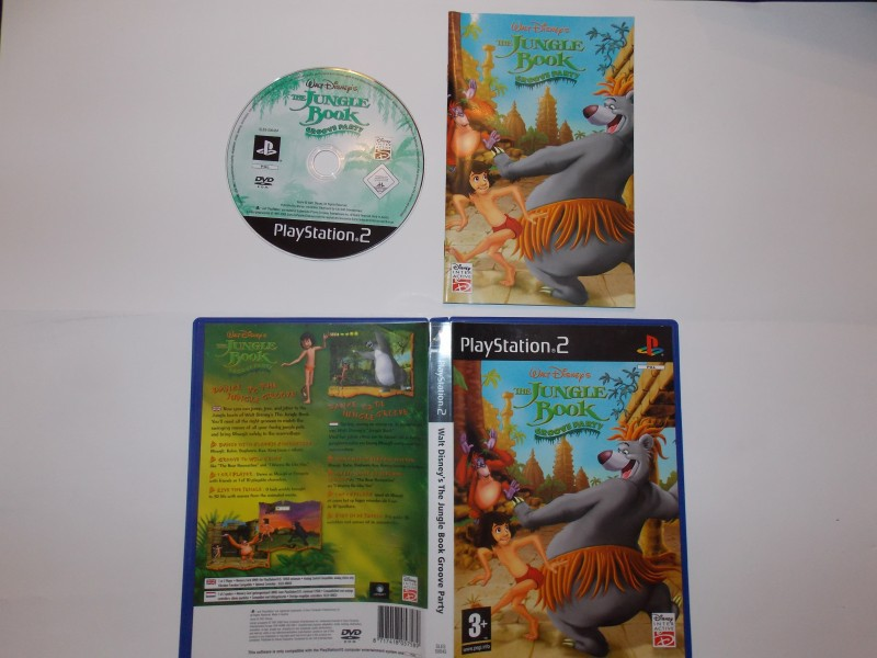 Walt Disney - Le Livre de la Jungle, Groove Party 497714Playstation2LeLivredelaJungleGrooveParty