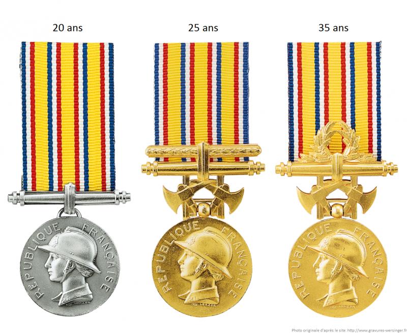 *Médaille d'honneur des sapeurs-pompiers 497748imageld