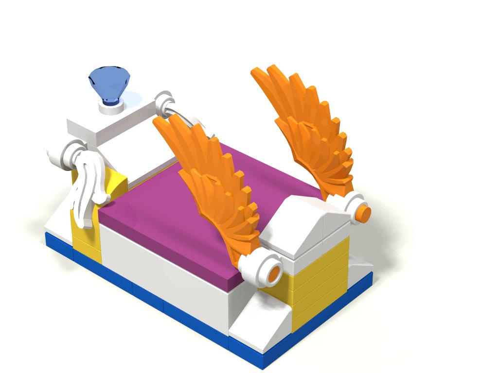 [MOC] Boîte de présentation Moi et mon dragon, en mini-maison de campagne 497753boite05maison01Lit03