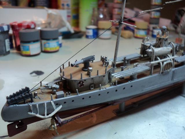 HMS Campbeltown 1/240 Revell 497948DSC01327