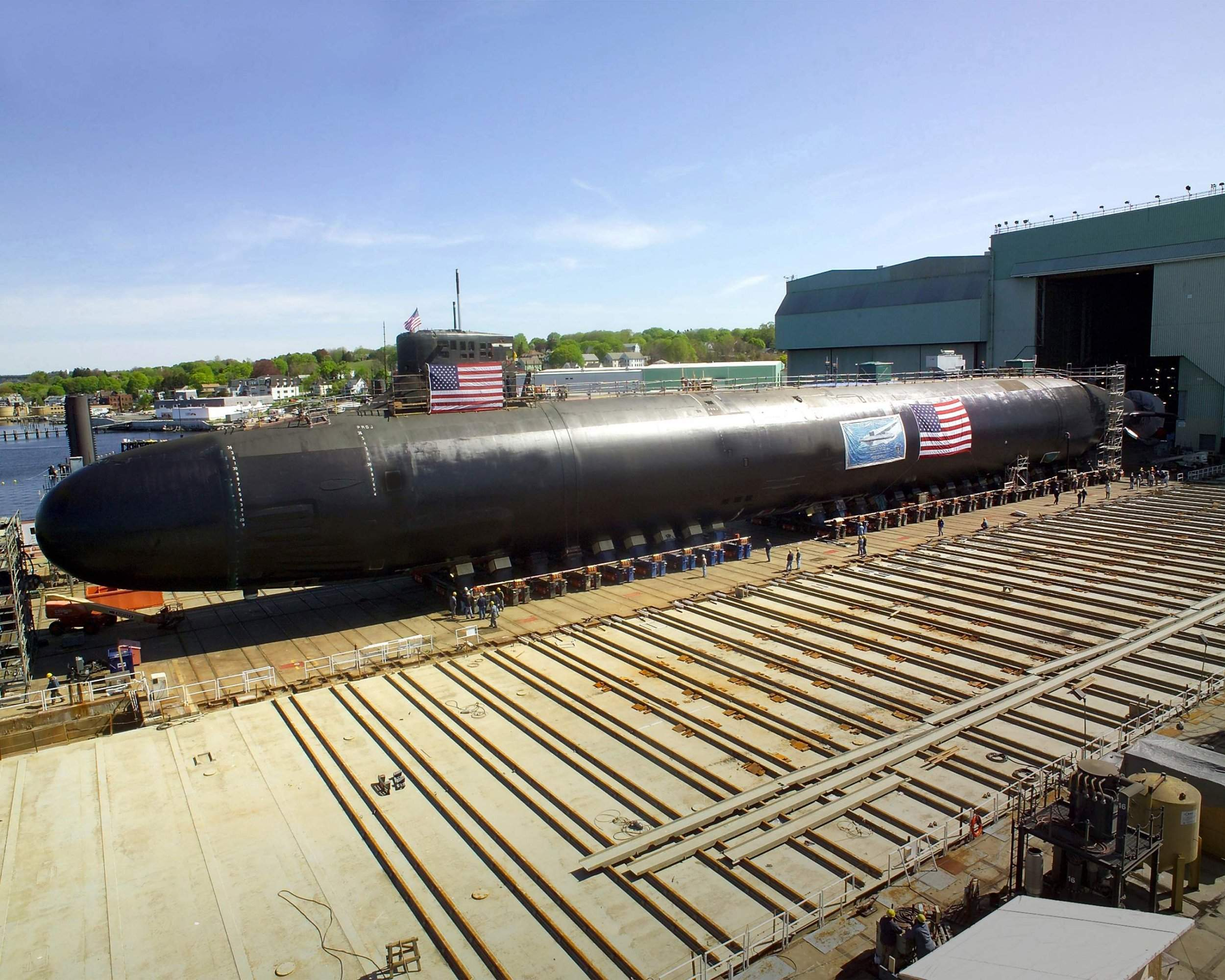 SSN 21 ET SSN 23 Seawolf Class 1/350 49877508002301