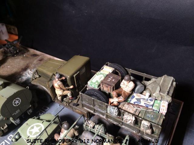Rhinoferry D12 plage du débarquement Normandie (Hobby Boss, AFV, Italeri, 1/35) - Page 2 499152dodge3005