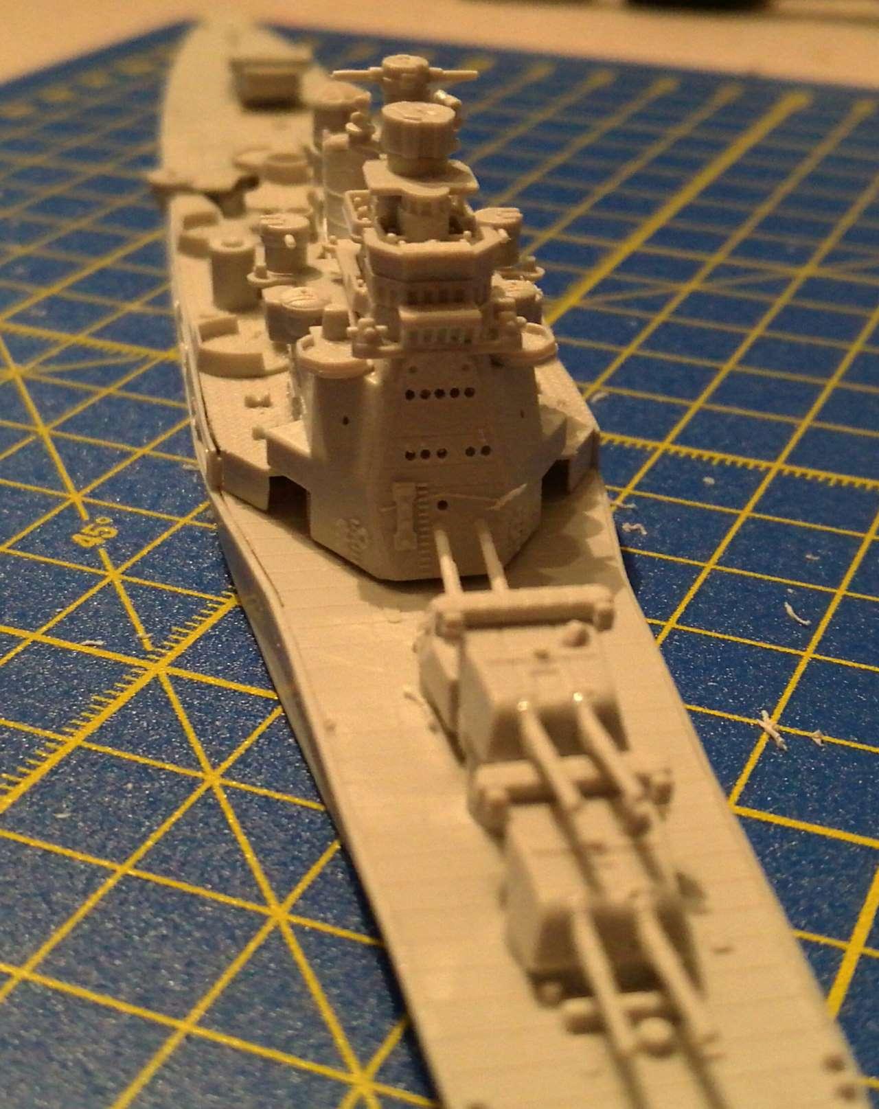 Croiseur TAKAO 1944 1/700 Pit-Road 500056Takao19