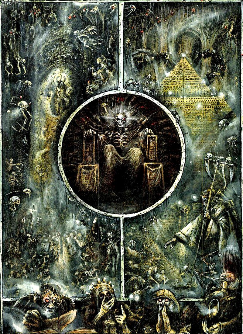 [W40K] Collections d'images diverses - Volume 2 501363TheGoldenThroneofTerraByJohnBlanche800